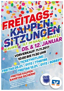 Freitags-Kappensitzungen 2018